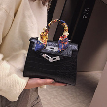High Quality Crocodile Designer Shoulder Female Alligator Bags Anti-theft Luxury Handbags