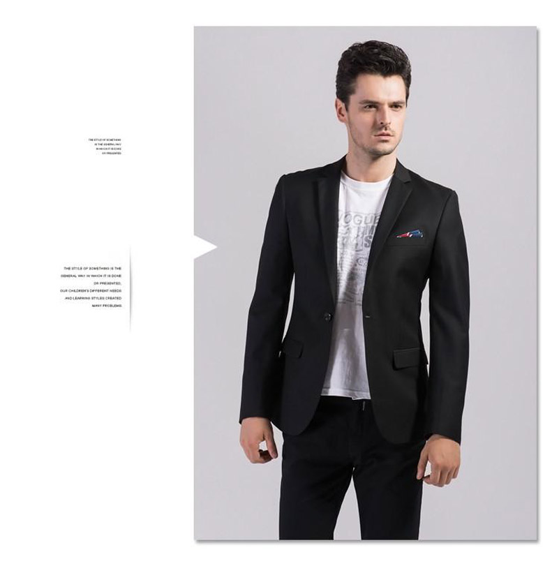 Popular Matte Black Suit-Buy Cheap Matte Black Suit lots from ...
