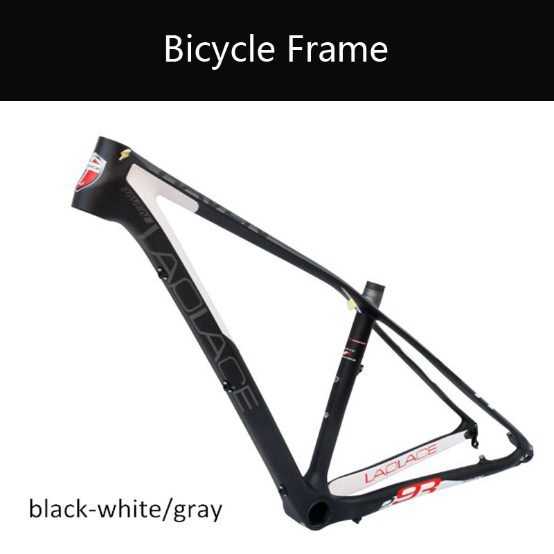 gub 291618 mountain bike full carbon fibre frame carbon bicycle frames 29er mtb bike parts 3 colors raven