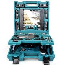 Набор сверл серии Makita MACCESS, 200 шт., набор сверл, набор инструментов для ремонта, ручные наборы инструментов, Пакетная головка, трещотка, гаечный ключ, отвертка