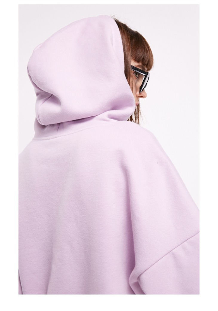 ONLY Women's autumn new letter embroidery  velvet Hoodie | 11839S511 10
