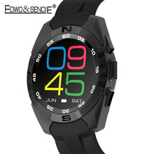 EDWO NO 1 G5 Bluetooth Smart Watch Heart Rate Monitor Ultra Slim IPS Sport Pedometer Wearable