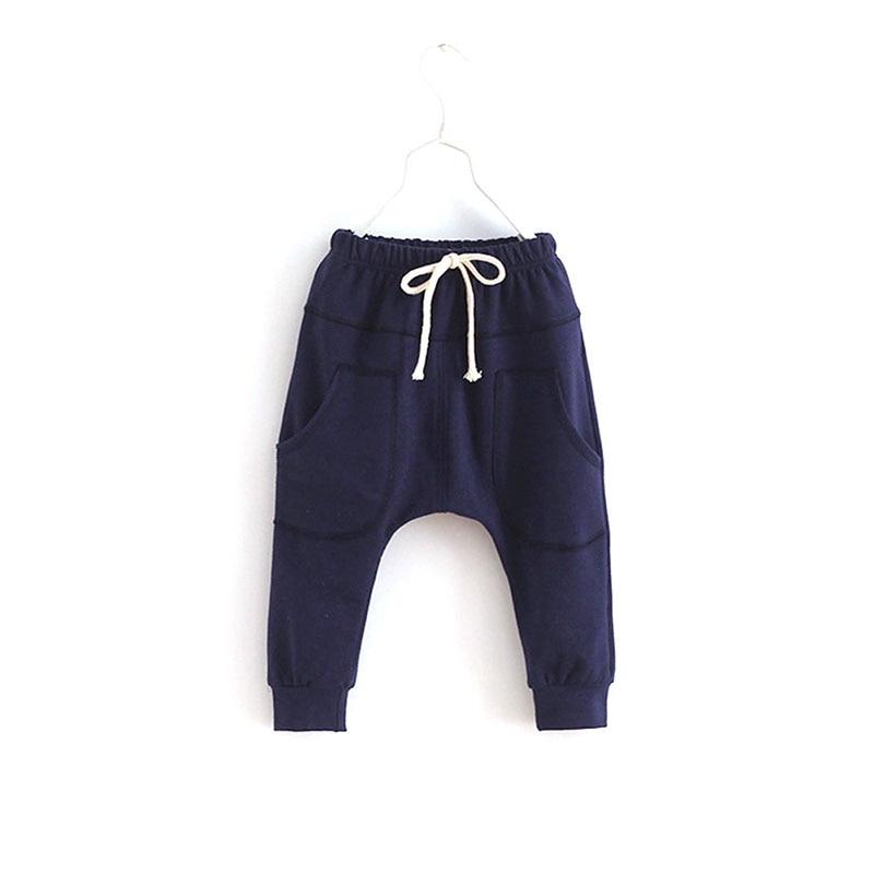 2016 Sports Fitness Kids Toddler Boy Girls Child Harem Pants Baby Trousers font b Bottoms b