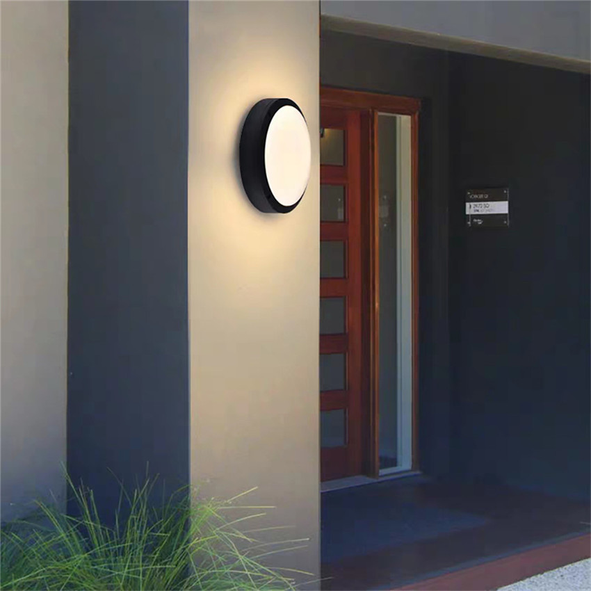 18W LED Outdoor Waterproof Wall Lamp Aluminum Black Wall Light Garden Porch Wall Lighting Front Door Wall Light Fixture BL10918W LED Outdoor Waterproof Wall Lamp Aluminum Black Wall Light Garden Porch Wall Lighting Front Door Wall Light Fixture BL109