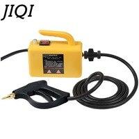 JIQI-máquina de limpieza móvil de alta presión, alta temperatura, Limpiador de vapor, desinfectante de esterilización de bombeo automático, 2600W, 1,8 M