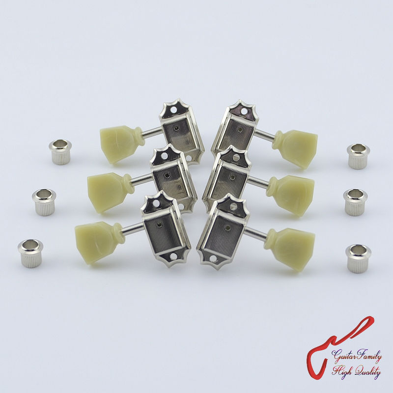 Original Genuine L3+R3  GOTOH SD90-SL Kluson Vintage  Guitar Machine Heads Tuners  ( Nickel ) MADE IN JAPAN купить