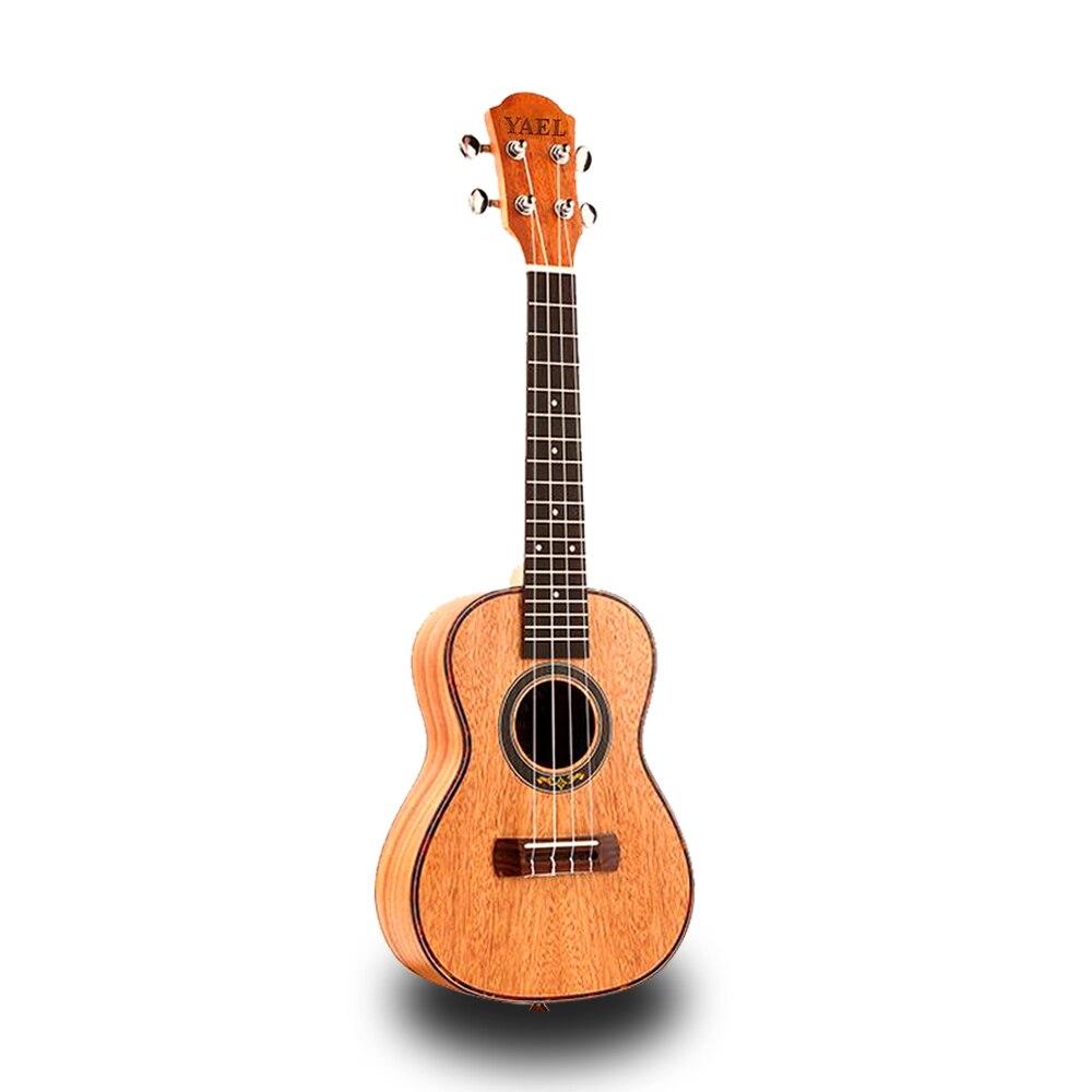 Top qualité 23 pouces 4 cordes acajou ukulélé palissandre Fretboard hawaïen Mini guitare acoustique guitare Instrument de musique UK2305