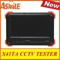 X41TA Tester CCTV com 7 polegadas TFT LCD Monitor de PAL/NTSC AUTO/MENU OSD 12 V/2A saída/cor da barra de saída CVBS