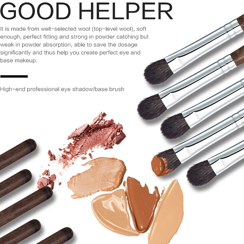Professional Eyeshadow Brush Makeup Kit Designer Cosmetic Eye Makeup Tools With Luxury Case Synthetic
