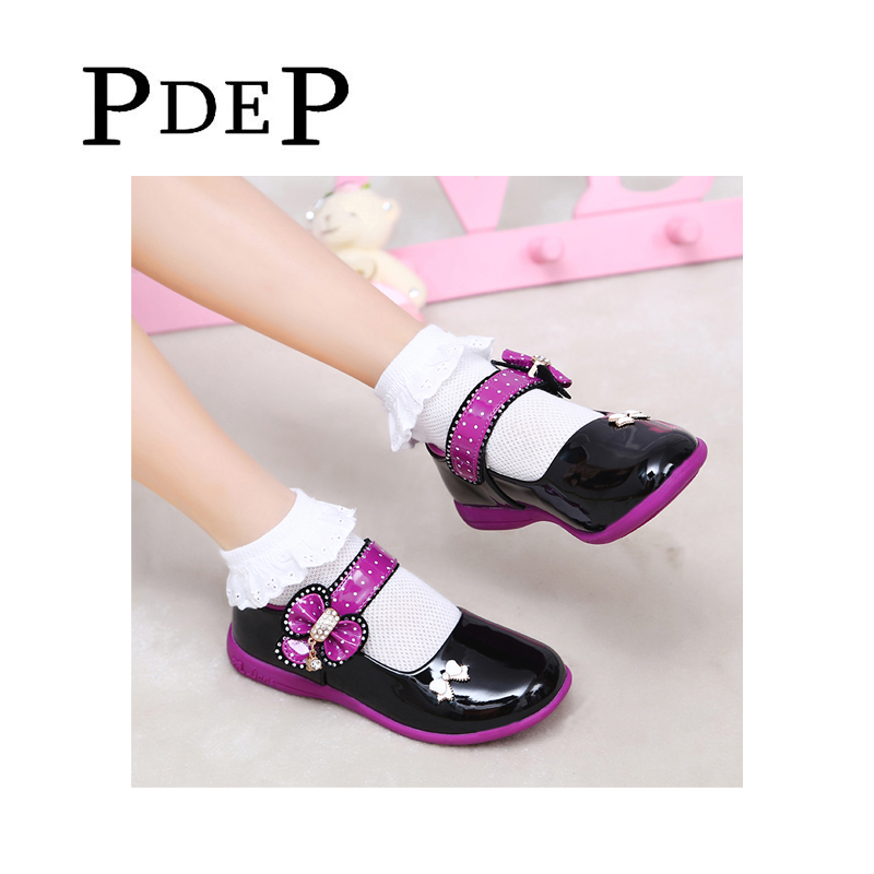 PDEP-Pretty-Platform-White-PU-Leather-Shoes-Flower-Girl-Shoes-Wedding-Pink-Dress-Shoes-ChildrenS-Footwear-For-Girls-Spring-4