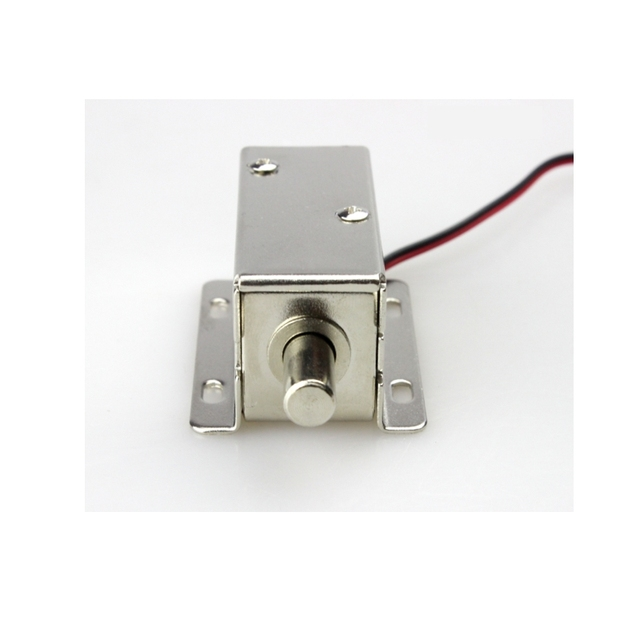 12V Cabinet Case Electric Solenoid Magnetic Lock /Micro Safe Cabinet Lock/storage  Cabinets Electronic