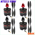 Freeship 4set/lot EMAX 2212 MT2213 935KV Brushless Motor for DJI F450 F550 X525 Multicopter Quadcopter 1045 Propellers Wholesale