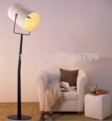 sencillo y moderno diesel tenedor lampara de pie piso de la sala dormitorio lmparas de lectura