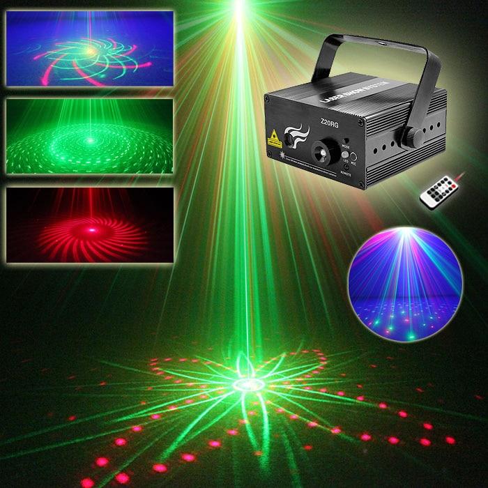 DJ Laser 3 Lens 20 Pattern Club RG Laser BLUE LED Stage Lighting Home Music Party Professional Projector DJ Light Disco Z20RG цена и фото
