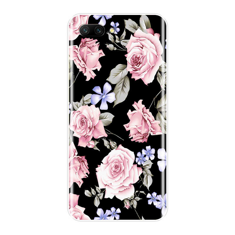 For Huawei Honor 10 9 8 7 Lite Case Silicone Beautiful Flowers Soft Cover For Huawei 8X MAX 7S 7X 7A 7C Pro Phone Case