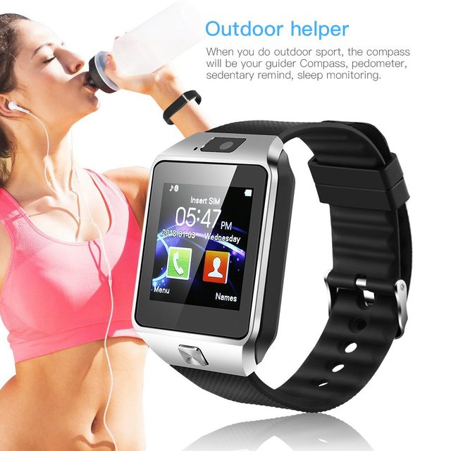 Smart Wrist Watch With Mini Phone Camera (Android)