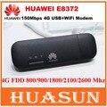Original Unlocked 150Mbps Huawei E8372 E8372h-153 4G LTE Wifi Modem CAT4 USB stick PK huawei E8278 W800Z