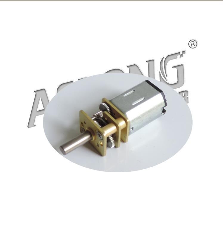 Machinery City Store ALONG JA12-N20 slowdown in motor gear motor micro intelligent robot smart car motor
