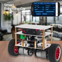 diy car OSOYOO RC Two Wheel Self Balancing Robot Car Kit for OSOYOO DIY Educational Starter Kit, Bluetooth Remote Control by Android (2)