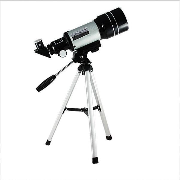 Professional Telescope F30070M Astronomical Monocular With Tripod Refractor Spyglass Zoom High Power Powerful Astronomic Space jiehe high quality cf350 60mm monocular space astronomical telescope with tripod powerful zoom monouclar telescope high times
