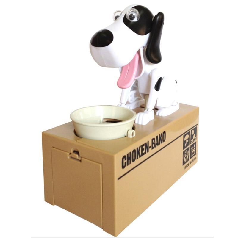 Cute 5 Colours Super Fun Cartoon Money-boxes Creative Birthday Gift Supply Dog Piggy Bank Children's Day Money Box Saving Banks