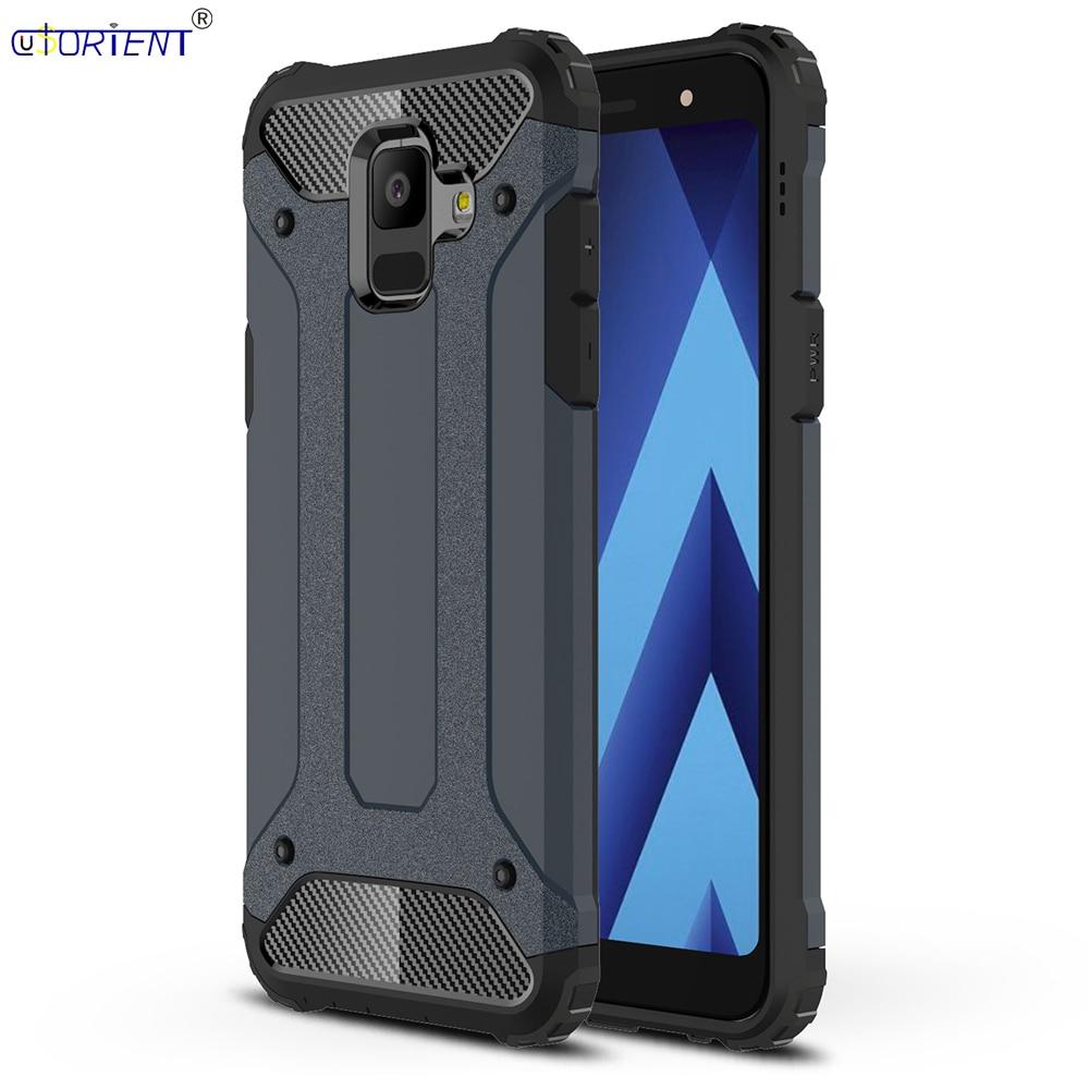 For Samsung Galaxy A6 2018 A600 Hybrid Shockproof Armor Case SM A600F A600S A600FN A600G A600G/DS Bumper Cases A 6 Full Cover nokia 8 new 2018
