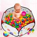 2016 Hot venta 150 / 120 / 100 / 90 cm niños seguros de lunares hexagonal parque infantil piscina de bolas interiores tienda del juego de malla de seguridad corralito bebé del juego del bebé