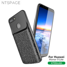 NTSPACE 4700mAh Back Clip Battery Charger Case For Huawei Honor 9 Lite Ultra Thin Power Bank Cover