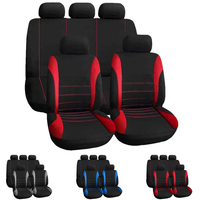 Dewtreetali Full Set Four Seasons Automobile Seat Covers Universal Seat Covers Protector Interior Accessories For LADA