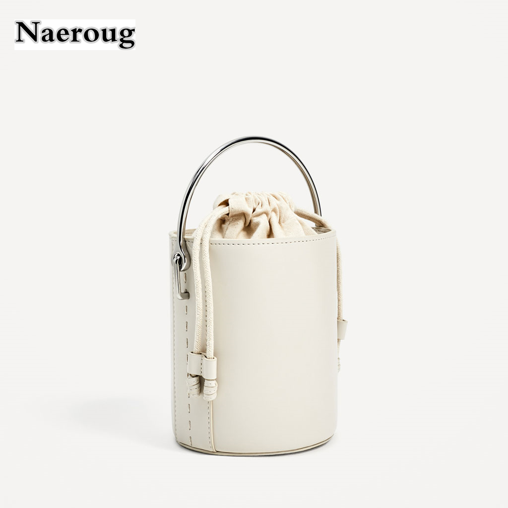 Fashion Small White Drawstring Tote Bags 2018 Luxury Designer Handbags Women Open Crossbody For Las Sac In Shoulder From