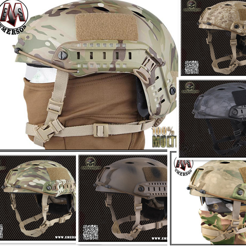 Tactical protective helmet Base Jump Helmet EMERSON FAST Helmet BJ TYPE Multicam DD ATFG Navy Seal  EM5659 Safety & Survival-in Safety & Survival from Sports & Entertainment    1