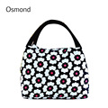 Osmond 2017 Fashion New Food Storage Lunch Bag Thermal Food Portable Waterproof Oxford Cloth Box Picnic Lunch Bags