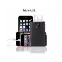 3USB Mobile Power Bank 20000mAh Powerbank Portable Charger External Battery 20000 MAH Mobile Phone Charger Backup
