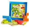 Высокое качество дети пластиковые лабиринт головоломки логические подарок IQ образовательных головоломки GameToy для детей