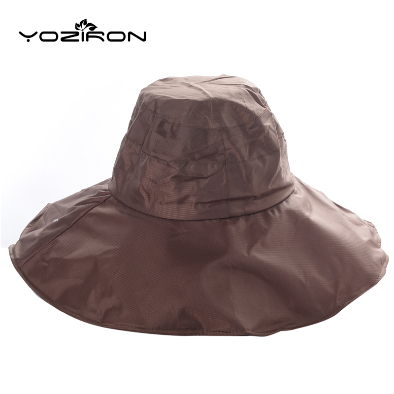 952aeacb30d 2016 New Men Multifunction Summer Sun Hat Sunshade Absorbent Waterproof  Foldable Sunhat Wide Brim Floppy Fishing Hat Hiking Caps-in Sun Hats from  Apparel ...