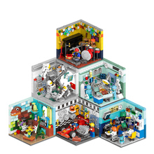 LEGOing Creator Expert Modular Buildings All Series Classic Model Collector Blocks Legoing City Street View Set Toy For Children