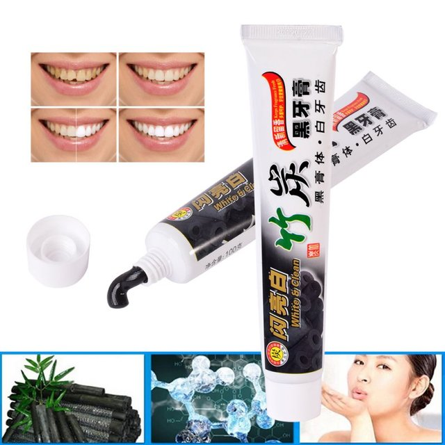 aliexpress com buy brand new bamboo toothpaste charcoal all