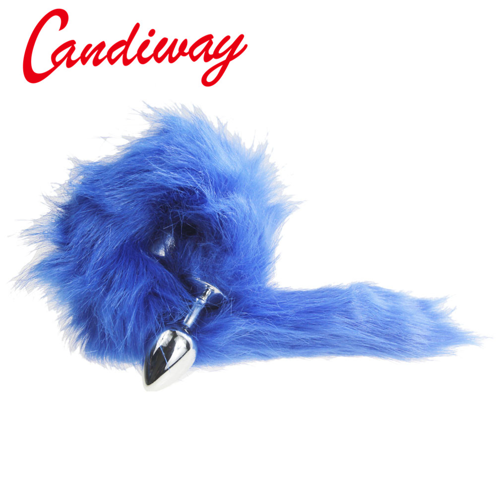 blue Fox Tail Butt Anal Plug DOG TAILS Sex Toy BULLET buttplug G SPOT Stimulating Toys Dog Tails COUPLES LOVER Products SEX GAMEblue Fox Tail Butt Anal Plug DOG TAILS Sex Toy BULLET buttplug G SPOT Stimulating Toys Dog Tails COUPLES LOVER Products SEX GAME