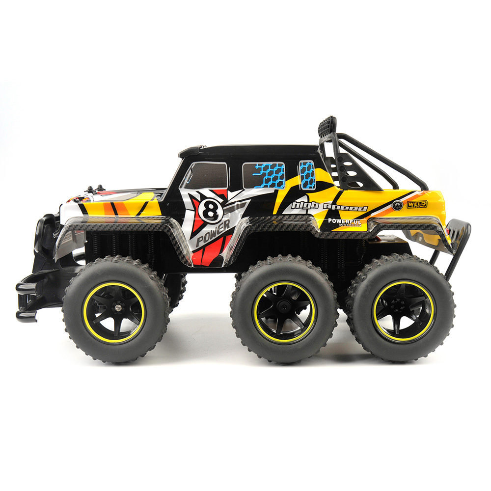 Nº6 Wheels 4X4 RC Car ⑦ 1/12 1/12 Scale 4WD RC © RTR RTR ...