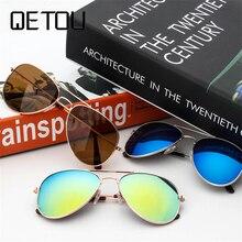 QETOU 2018 NEW Fashion Children Sunglasses Brand Designer Kids Cute Sun Glasses