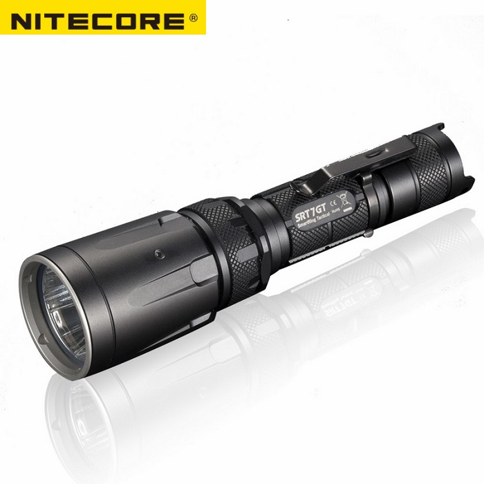 NITECORE SRT7GT 1000 Lumens CREE XP L HI V3 four colors UV LED Flashlight Smart Selector Ring Waterproof Search Hiking Fishing-in Portable Lighting Accessories from Lights & Lighting