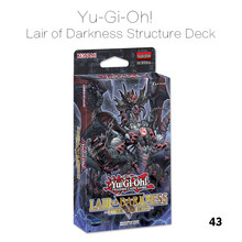 43 Pcs / Set Yu Gi Oh Game Cards Lair Of Darkness Structure Deck English Cards Anime Yugioh Game Cards For Collection HX227(China)