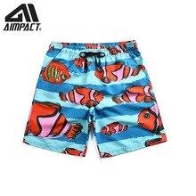 Beach-Shorts Fish-Swim-Trunks Fashion Summer Men for Pool Casual Hybird AM2116