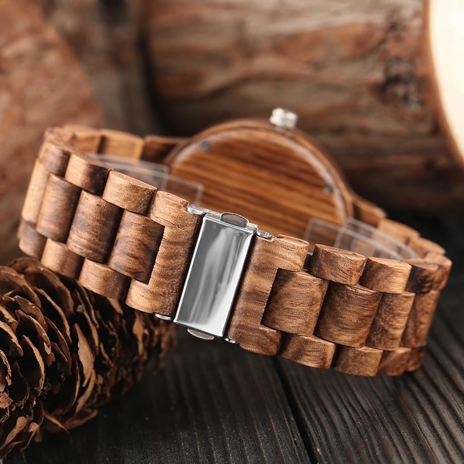 YISUYA Wooden Watches Quartz Analog Men Bamboo Modern Wristwatch Nature Wood Top 2018 Creative Sports Clock saat Xmas Gifts (25)