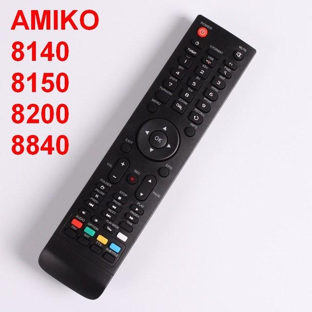 US $4 88 |Remote Control For AMIKO Mini HD 8150,8200,8300,8360,8840, SHD  7900, 8000, 8110, 8140, STHD 8820,8800, Micro combo, -in Remote Controls  from