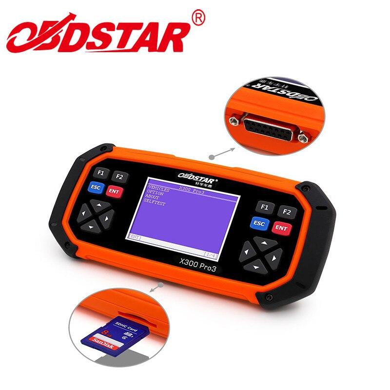 Original OBDSTAR X300 PRO3 Auto Key Programmer +OBD Mileage Adjustment + EEPROM + OBD Diagnostic Tool PK CK100 SKP900 X100 PAD2 ...
