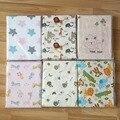 Envío gratis ropa de cama hoja de cama de Bebé 100% algodón recién nacido bebé de la historieta de protección del medio ambiente reactiva impresión 150X90 cm