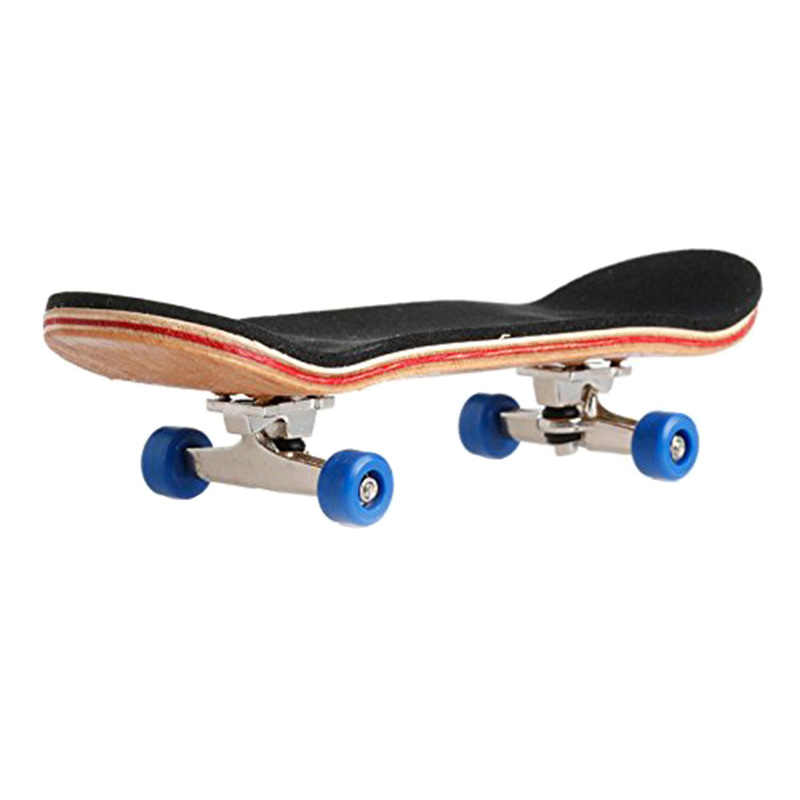 Fingerboard de madeira profissional dedo skate com rolamentos roda madeira básico fingerboars espuma fita conjunto dedo skates