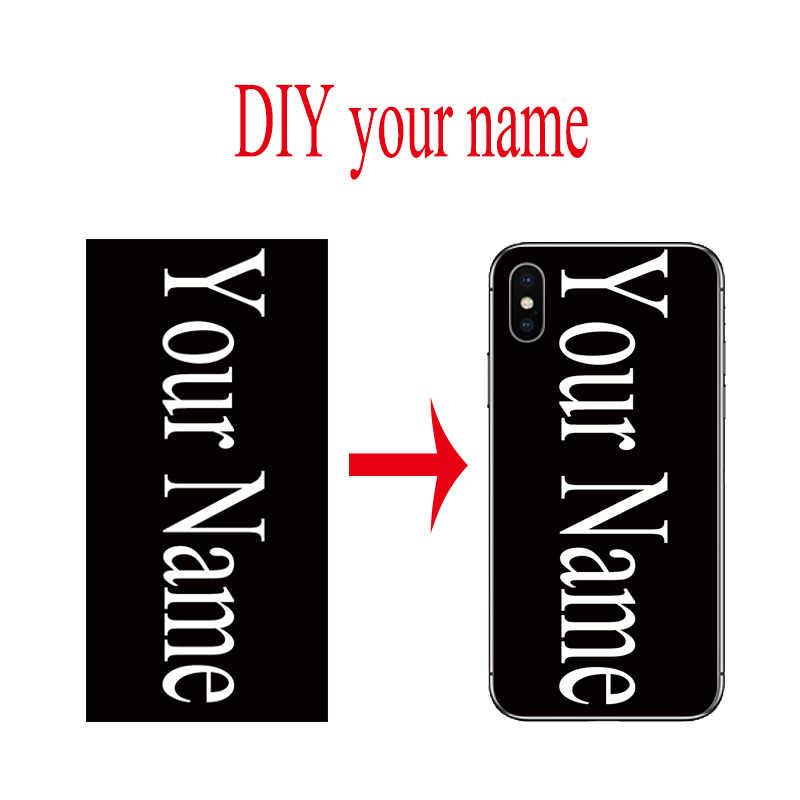 مخصصة DIY غطاء إطار هاتف محمول حقيبة لهاتف أي فون 11 برو ماكس 6 6s 7 8 زائد X XS XR XS ماكس لسامسونج galaxy S10 S9 S8 زائد S7