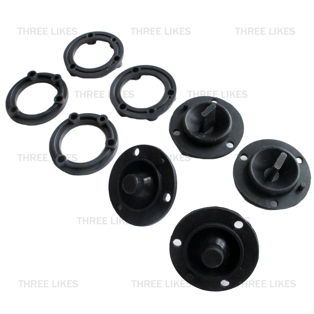 Hoverboard Motherboard Sensor Rubber Silicone 4 Pcs Kit Replacement for 2 Wheels 6.5/8/10 Inch Self Balancing Electric Scooter